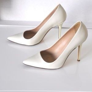 J.Crew Collection Roxie Glossy Leather Pumps
